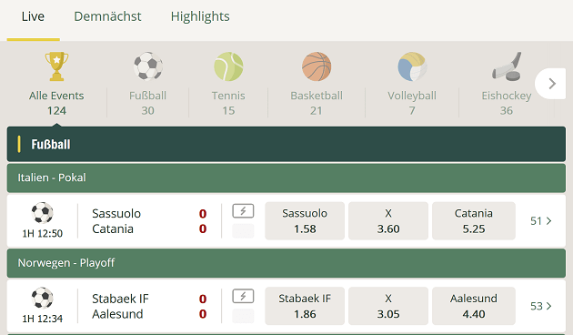 Cherry Casino Sportwetten Erfahrungen – Test & Bewertung 2021