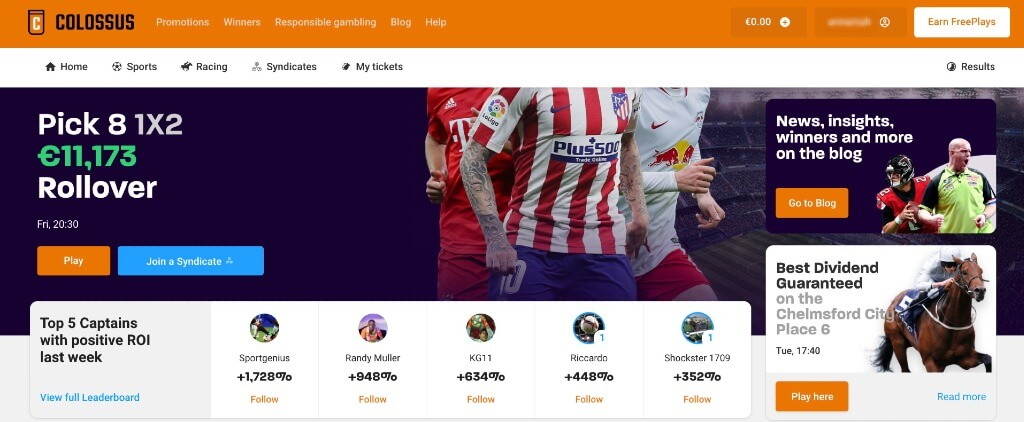 Colossus Bets Sportwetten Erfahrungen – Test & Bewertung 2020