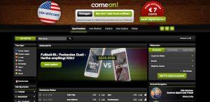 ComeOn Bundesliga-Wetten: Quoten, Test und Erfahrungen