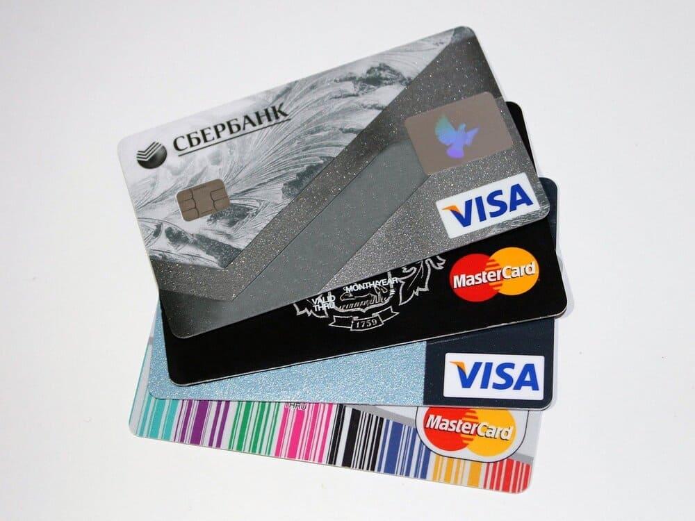 VISA und MasterCard Kreditkarten