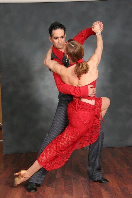 dancers couple