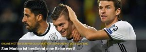 Wett-Tipp heute: San Marino – Deutschland (11.11.2016)