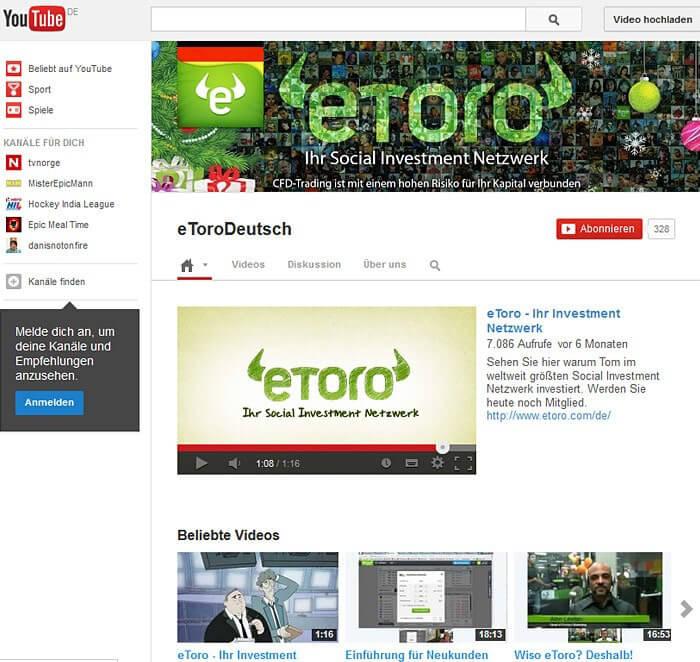 eToro App für Android, iPhone & iPad (+ Download)