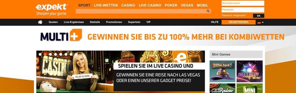 www.expekt.com Sportwetten – Erfahrungen und Bewertung