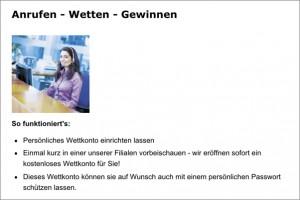 Telefonwette bei Fortuna-Wetten (Quelle: fortunabet.at)