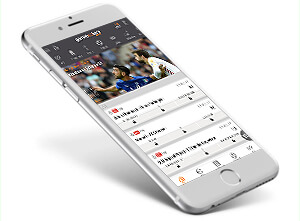 Gamebookers mobile App für iPhone, iPad und Android