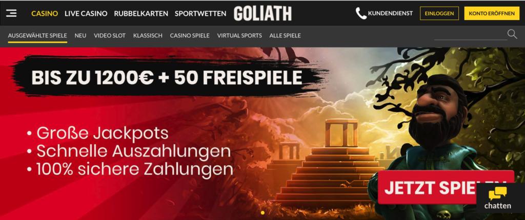 Goliath Sportwetten – Erfahrungen und Bewertung 2018