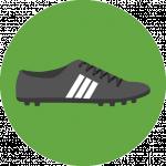 Icon eines Fußballschuhs