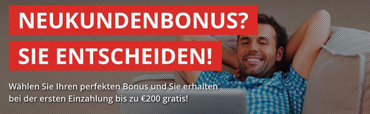 Intertops Bonus – 25 % bis 100 € Wettbonus sichern