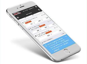 Intertops mobile App für iPhone, iPad und Android
