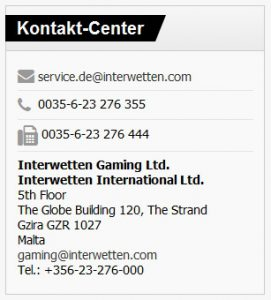 Support Interwetten