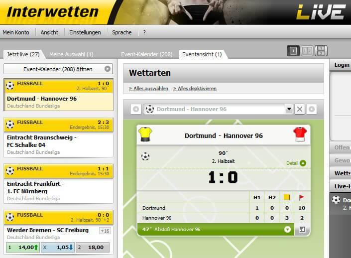 Interwetten.com Bewertung und Erfahrungsbericht