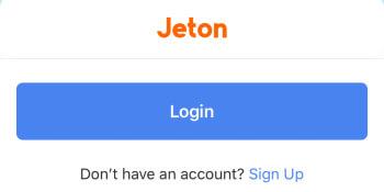 Jeton – Registrierung anstoßen