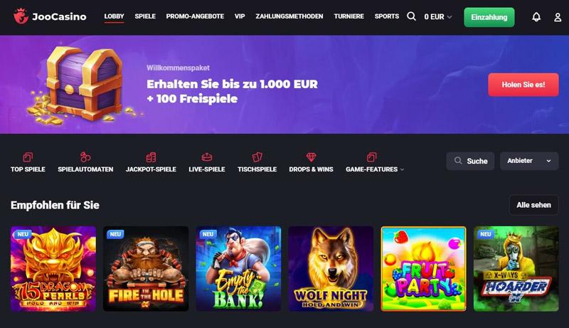 Joo Casino Sportwetten – Erfahrungen und Bewertung 2021