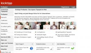 Tippkick / Kick Tipp online spielen vs. Echtgeld mit Einsatz