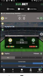 Kulbet App für iPhone, iPad und Android