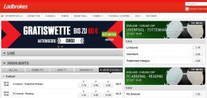 Ladbrokes Bundesliga-Wetten: Quoten, Test und Erfahrungen