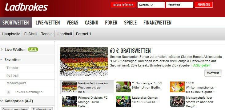 www.ladbrokes.com/de – Erfahrungen und Bewertung