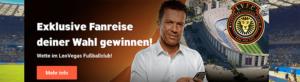 LeoVegas Sport Gewinn-Boost: Auf die Bundesliga wetten und 200 Euro extra abkassieren