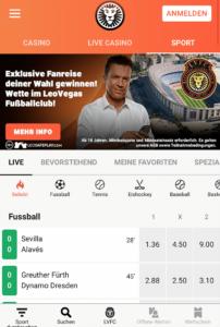 LeoVegas Sportwetten – Erfahrungen und Bewertung 2017