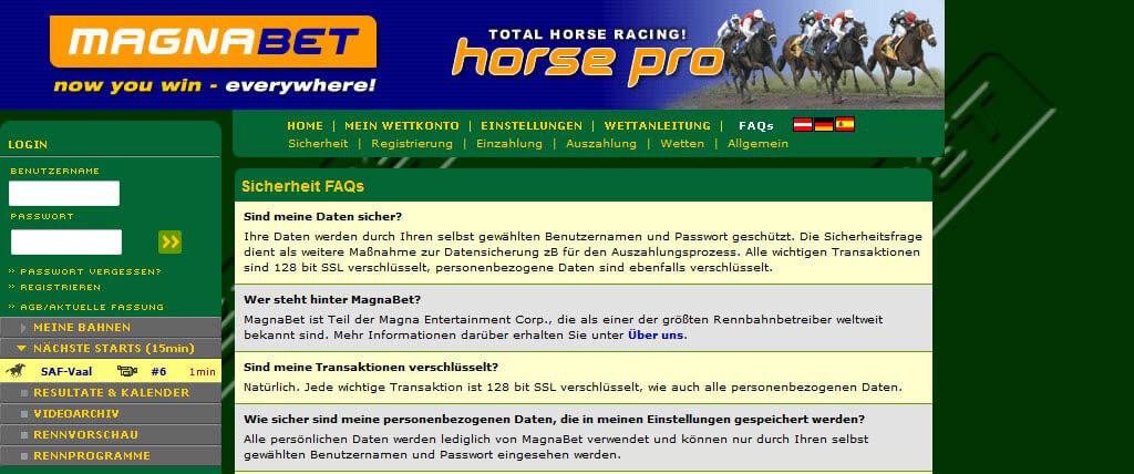 magnabet.com Pferdewetten Info & Erfahrungen 2016