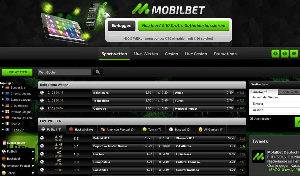 Mobilebet Sportwetten Erfahrungen – Test & Bewertung 2021