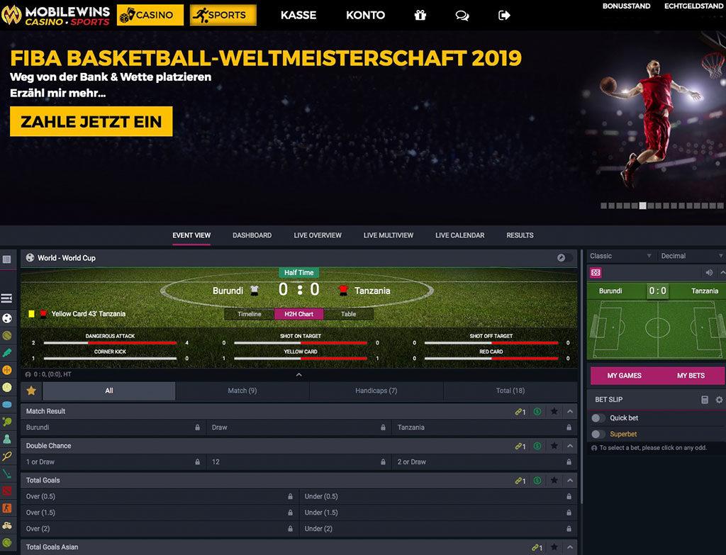 MobileWins Sportwetten Erfahrungen – Test & Bewertung 2021