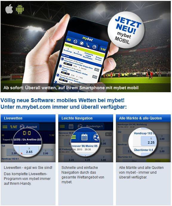 mybet Meinung und Testbericht 2016