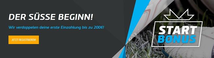mybet Anmeldung – Registrierung mit 200 Euro Bonus