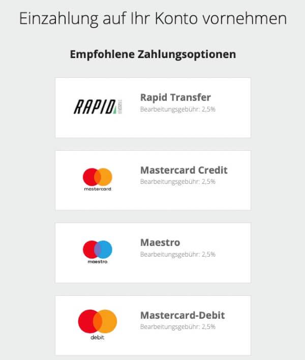 NETELLER Registrierung – NETELLER Guthaben aufladen