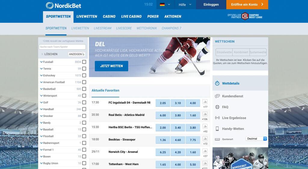 Nordicbet.com Test & Erfahrungen 2017