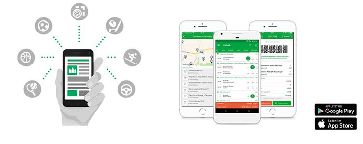 Oddset mobile App für iPhone, iPad und Android im Test