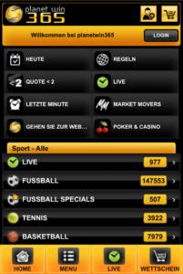 Planetwin365 Sportwetten – Erfahrungen und Bewertung