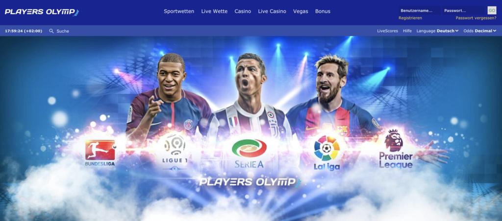 PlayersOlymp Sportwetten – Erfahrungen und Bewertung 2019