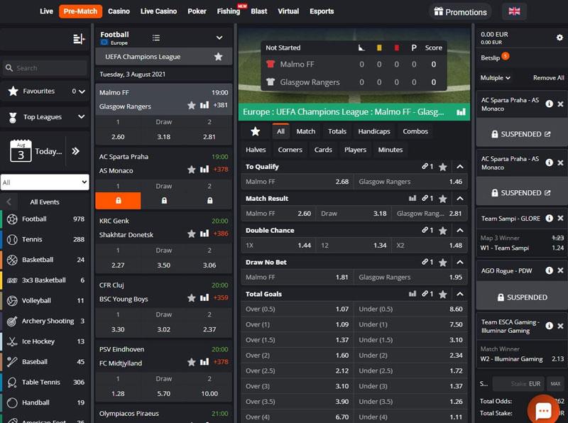 PNXBET Sportwetten – Erfahrungen und Bewertung 2021