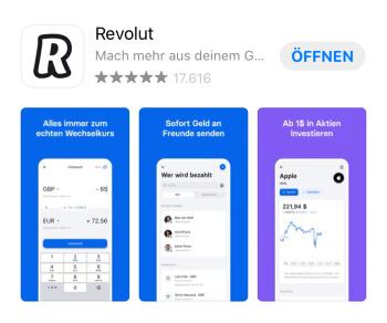 Revolut App herunterladen