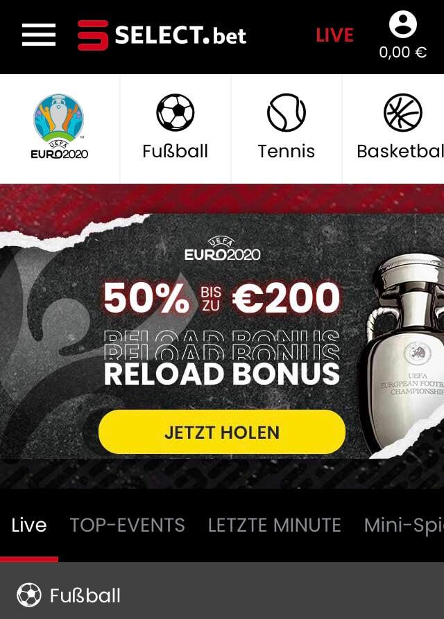 Select.bet Sportwetten – Erfahrungen und Bewertung 2021