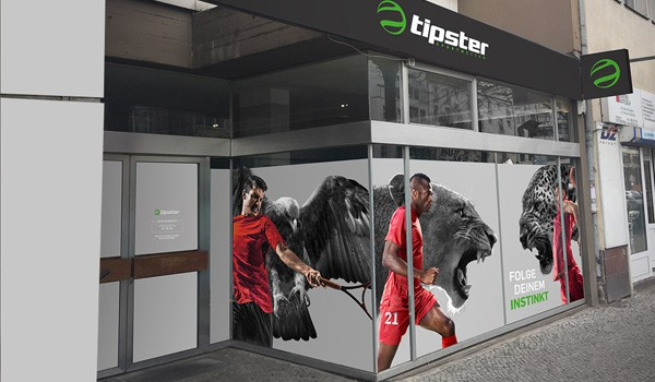 Tipster Shop eröffnen – Optik außen