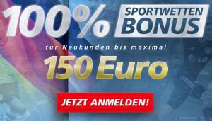 Sportingbet Bonus – 100 Euro Gutschein einlösen