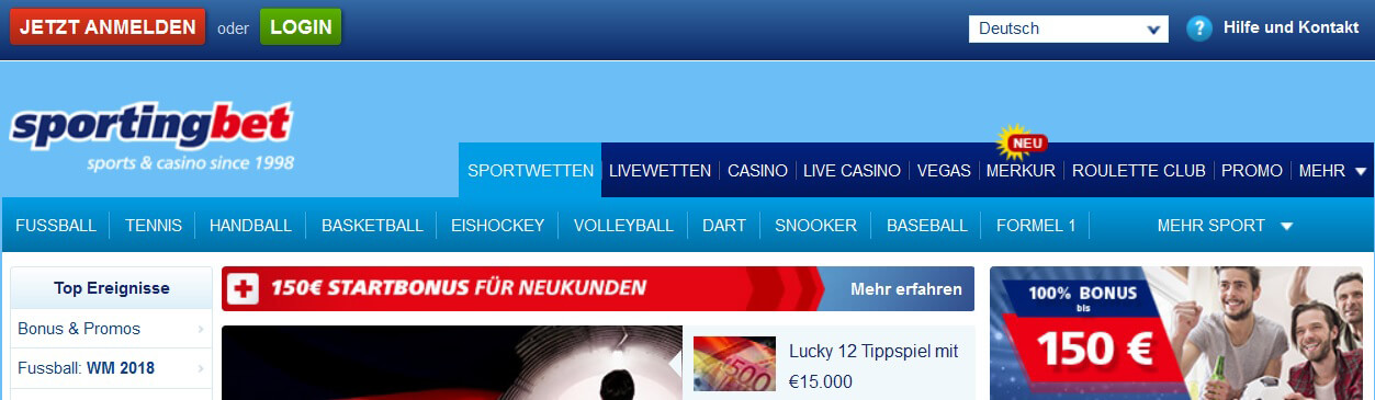 Sportingbet Support Kundenservice