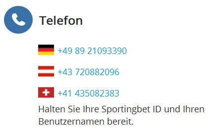 Sportingbet Kundenservice & Support: Test und Bewertung