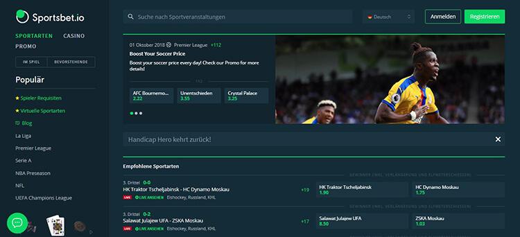 Sportsbet.io Sportwetten Erfahrungen – Test & Bewertung 2021
