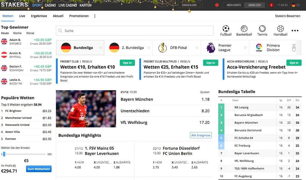 Stakers Sportwetten Erfahrungen – Test & Bewertung 2021