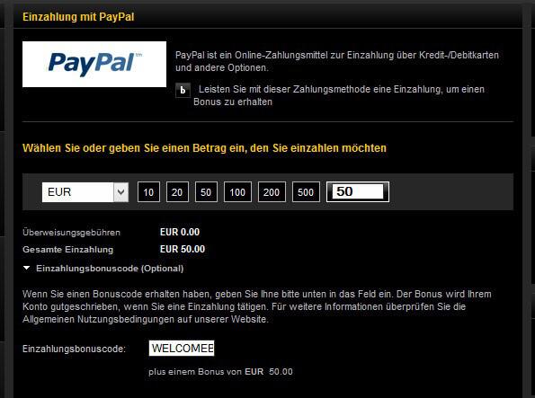 bwin PayPal Einzahlung Schritt 4