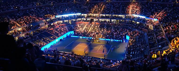 Tennis Stadion US Open Wetten
