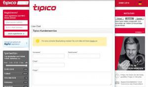 Tipico Wettprogramm – Was bietet Tipico heute & morgen