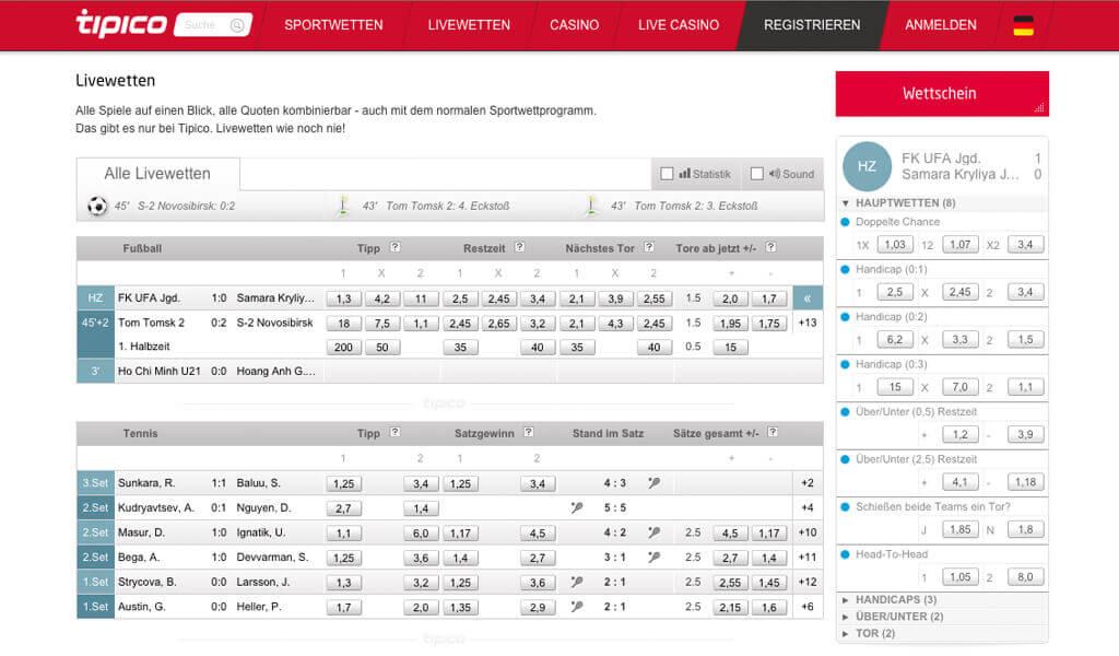 tipico.com Sportwetten – Erfahrungen und Bewertung 2017