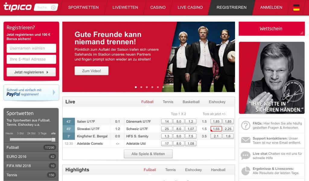 Tipico TV Spot / Werbung – Kahn & Schmeichel