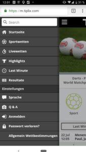 Tiplix App für iPhone, iPad und Android