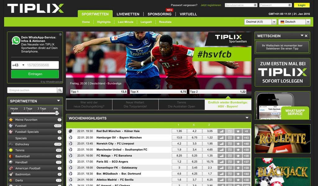 Tiplix Startseite